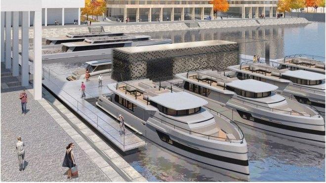 Design Modell Humboldthafen von eSpreeBerlin