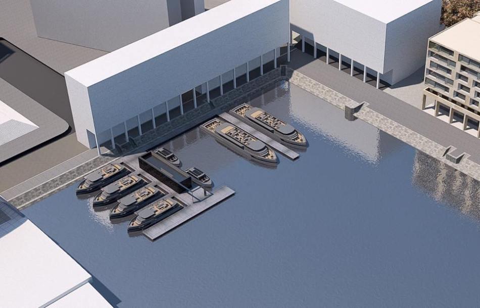 Elektrische Schiffe im Humboldthafen