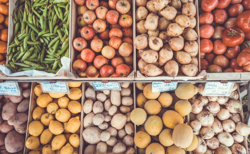 Brite eröffnet Supermarkt mit abgelaufenem Obst undGemüse