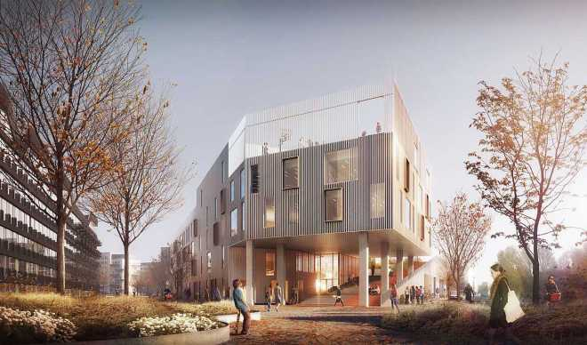 News Islands Brygge School lets Students grow their own food