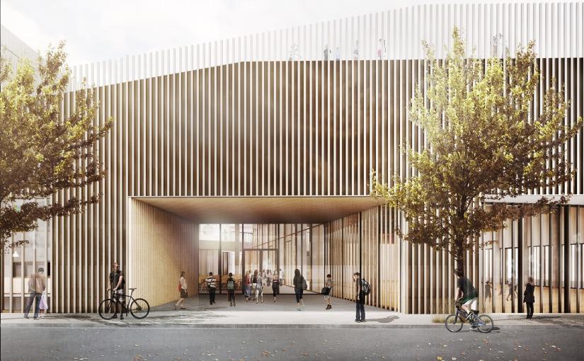 Diese solarbetriebene Schule in Kopenhagen setzt auf Ernährung, Bewegung undSensorik