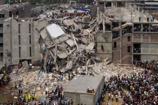 Als Rana Plaza einstürzte wurden tausende Menschen getötet