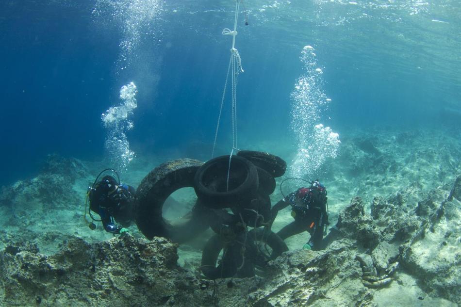 Der meiste Plastikmüll konzentriert sich in den Gewässern rund um Athen