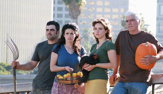 Dervaes Familie in Pesadena baut Gemüse selbst an