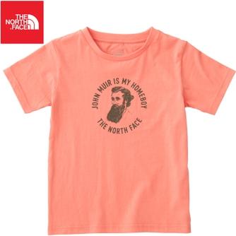 John Muirs Gesicht auf dem Shirt von North Face