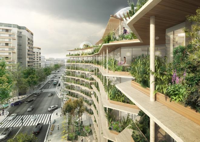 Urban Farming in Paris Konzeptdesign von Jacques Ferrier