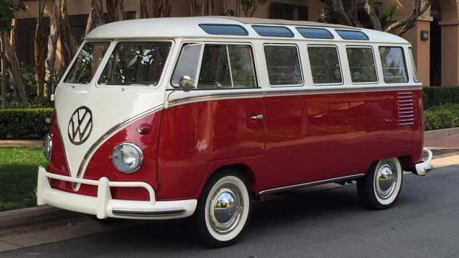 VW Bus Bulli in Original 1960er Version
