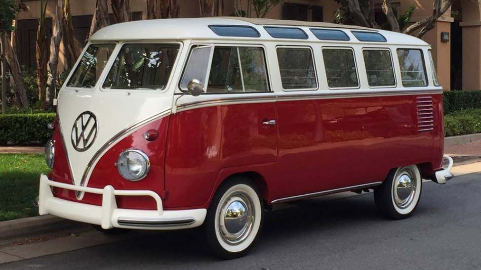 VW Bus Bulli in Original 1960er Version