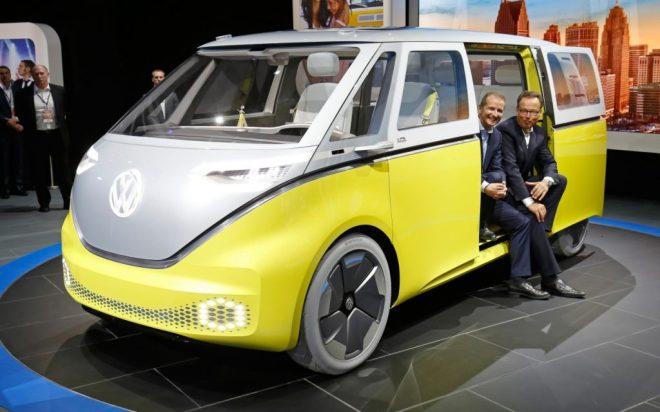 VW ID Buzz ist der Bulli in elektrisch