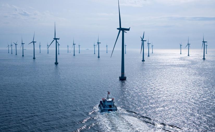 Vor der belgischen Küste entsteht die landesweit größte Offshore-Windfarm mit 44Turbinen