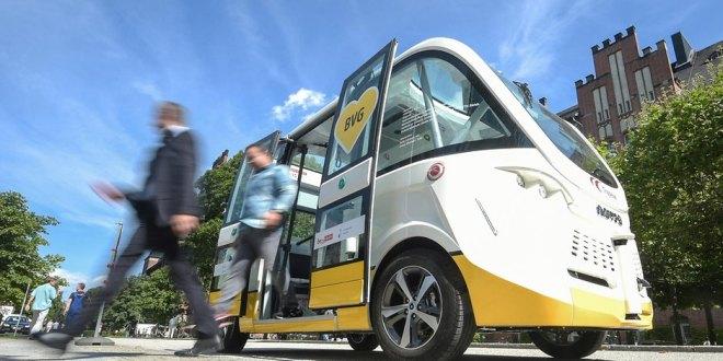 Die BVG testet Autonomes Fahren auf dem Charite Gelände und dem EUREF Campus