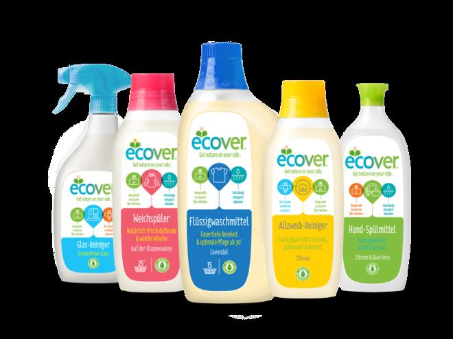 Ecover aus Belgien stellt Verpackungen aus Recyclingkunststoff her