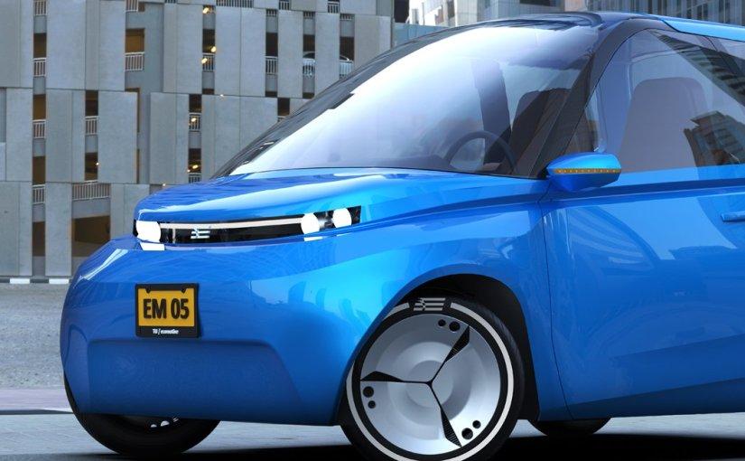 Dieses niederländische Auto aus Zucker lässt sichkompostieren