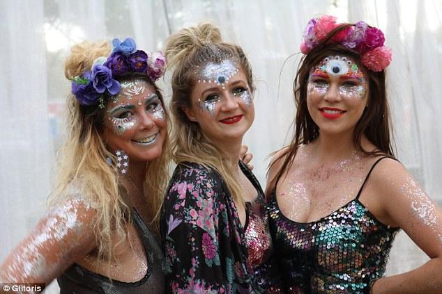 UK verbietet Glitter auf seinen Festivals